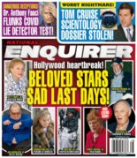 National Enquirer September 20, 2021 Issue Cover