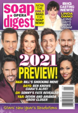 Soap Opera Digest | 1/4/2021 Cover