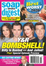 Soap Opera Digest | 12/21/2020 Cover