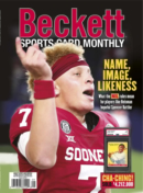 Beckett Sports Card Monthly September 01, 2021 Issue Cover