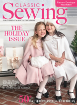 Classic Sewing December 01, 2019 Issue Cover
