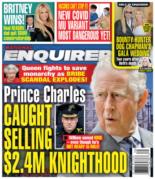 National Enquirer September 27, 2021 Issue Cover