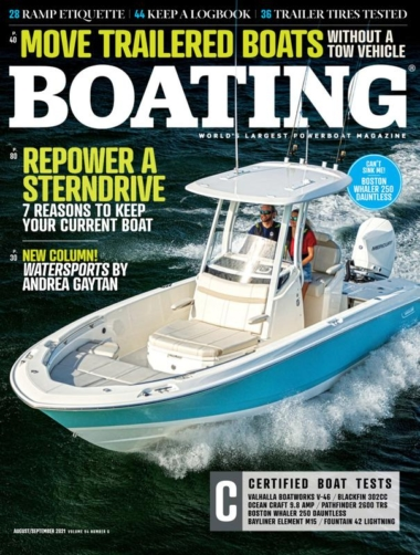 Boating August 01, 2021 Issue Cover