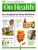 Consumer Reports On Health October 01, 2021 Issue Cover