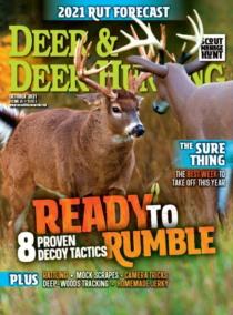 Deer & Deer Hunting October 01, 2021 Issue Cover