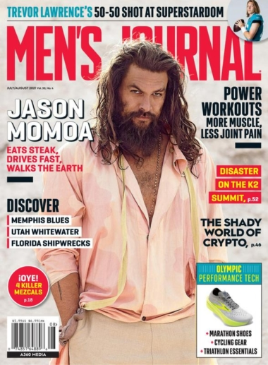 Men's Journal July 01, 2021 Issue Cover