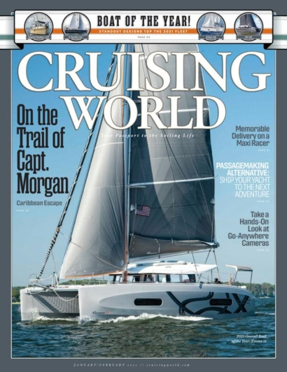 Cruising World | 1/1/2021 Cover
