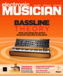 Electronic Musician November 01, 2021 Issue Cover