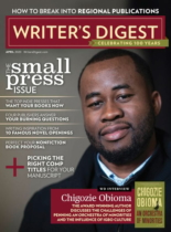 Writer's Digest   4/1/2020 Cover