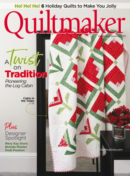 Quiltmaker | 11/1/2020 Cover