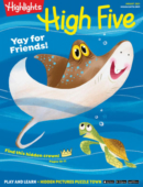 Highlights High Five August 01, 2021 Issue Cover