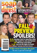 Soap Opera Digest September 13, 2021 Issue Cover