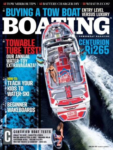 Boating June 01, 2021 Issue Cover