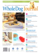 Whole Dog Journal September 01, 2021 Issue Cover