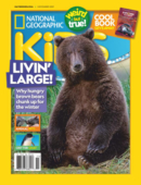 National Geographic Kids November 01, 2021 Issue Cover