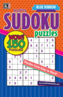 Blue Ribbon Kappa Sudoku Puzzles | 1/2025 Cover