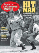 Sports Collectors Digest October 15, 2021 Issue Cover