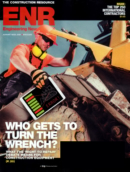 Engineering News Record August 16, 2021 Issue Cover