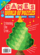 Games World of Puzzles December 01, 2021 Issue Cover