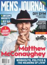 Men's Journal | 1/1/2021 Cover