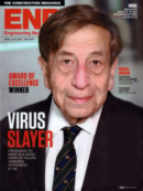 Engineering News Record April 12, 2021 Issue Cover