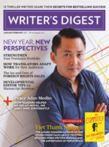 Writer's Digest January 01, 2021 Issue Cover