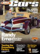 Old Cars September 01, 2021 Issue Cover