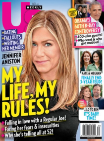 Us Weekly August 23, 2021 Issue Cover