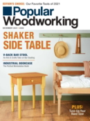 Popular Woodworking December 01, 2021 Issue Cover