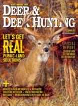 Deer & Deer Hunting September 01, 2021 Issue Cover