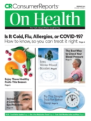Consumer Reports On Health | 2/1/2021 Cover