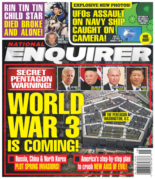 National Enquirer May 03, 2021 Issue Cover