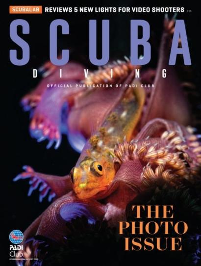 Scuba Diving September 01, 2020 Issue Cover
