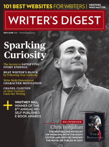 Writer's Digest May 01, 2021 Issue Cover