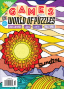Games World of Puzzles October 01, 2021 Issue Cover