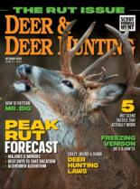 Deer & Deer Hunting | 10/2020 Cover
