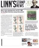Linn's Stamp News Weekly October 25, 2021 Issue Cover