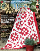 Quilter's World December 01, 2021 Issue Cover