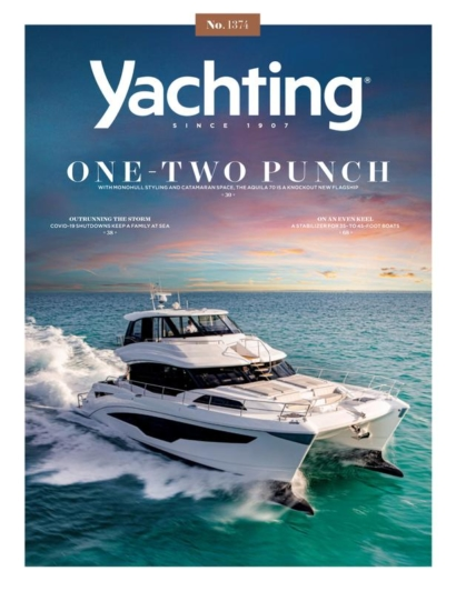 Yachting August 01, 2021 Issue Cover