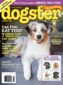 Dogster October 01, 2021 Issue Cover