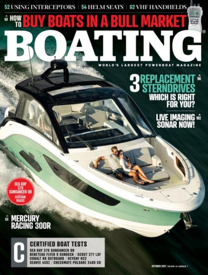 Boating October 01, 2021 Issue Cover