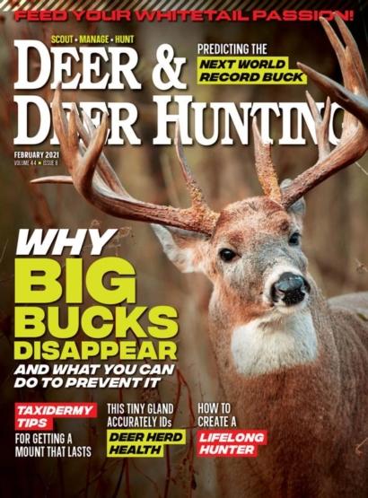 Deer & Deer Hunting | 2/2021 Cover