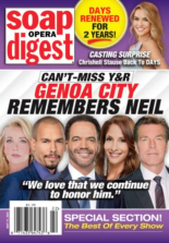 Soap Opera Digest May 31, 2021 Issue Cover