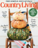 Country Living October 01, 2021 Issue Cover