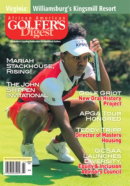 African Amercian Golfer's Digest June 01, 2021 Issue Cover