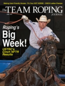 The Team Roping Journal June 01, 2021 Issue Cover
