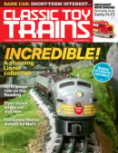 Classic Toy Trains November 01, 2021 Issue Cover