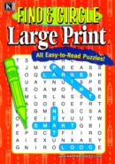 Find & Circle Large Print | 1/1/2025 Cover