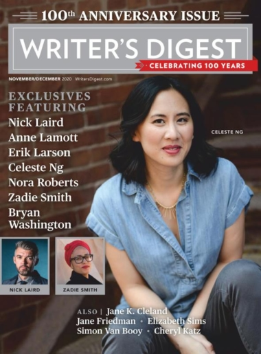 Writer's Digest   11/1/2020 Cover