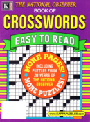 The National Observer Book of Crosswords | 1/1/2025 Cover